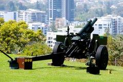 105mm Artillerie-Gewehr lizenzfreies stockbild