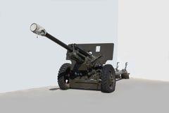 76mm artillery gun Royalty Free Stock Images