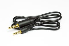 3 5mm Audio Jack Plug bis 2 5mm Audio Jack Lizenzfreie Stockbilder