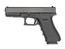 9 mm automatic hand gun Stock Image