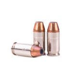 9mm bullet for a gun isolated on white background Stock Image