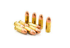 9mm bullet Stock Photo