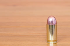 9 mm or .357 bullet Royalty Free Stock Images
