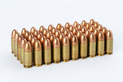9mm bullets Royalty Free Stock Photo