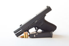 0.38 mm caliber pistol Royalty Free Stock Photography