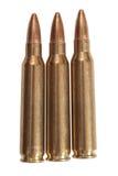 5.56mm caliber. Rifle ammunition Stock Photography