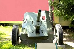 45 mm cannon the Second World War Stock Image