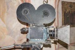 35-mm Cine Camera last century Royalty Free Stock Photo