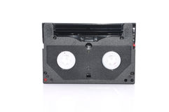 8mm Computer Tape Backup Data Cartridge Over White Background Stock Photos