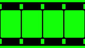 16mm de Videolengte van de Filmstrook royalty-vrije illustratie
