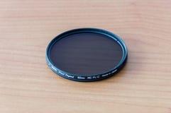 Mm för Hoya Pro1 Digital konferenciéPL-c 62 Polariserande glass filter för cirkulär Royaltyfri Fotografi