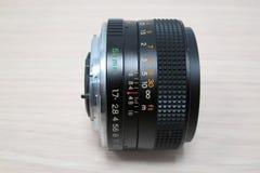 50 mm f 1 lins 7 royaltyfria foton