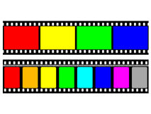 35mm Film Lizenzfreie Stockfotos