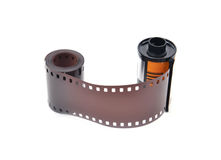 35 mm film cartridge Royalty Free Stock Image