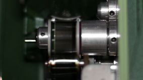 16mm Film Projector Gear Projecting Movie stock footage