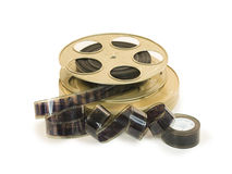 35mm Film In Reel And Its Can 10 Stock Photo
