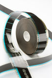 35mm film reel Royalty Free Stock Images