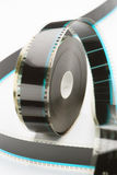 35mm film reel Royalty Free Stock Photography