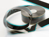 35mm film reel Stock Image