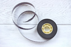 16mm film reel Stock Images