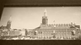 120mm Film Slide. A close up of old slide films stock video
