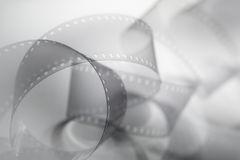 35mm Film strip. Blurred background image Stock Image