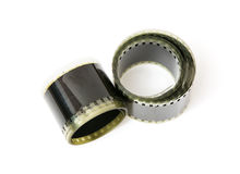 8mm film tape Stock Photo