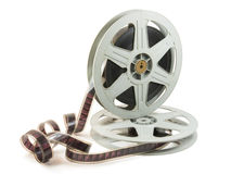 35mm Film In Two Reels Royalty Free Stock Image