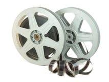 35mm film W Dwa rolkach zdjęcie stock