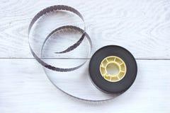 16mm Filmbandspule Stockbilder