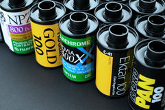 35mm filmbroodjes Royalty-vrije Stock Foto's