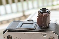 135mm Filmpatrone Stockfotografie