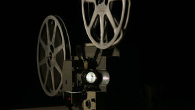 16mm filmprojektor Royaltyfria Bilder