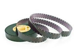 16mm filmrulle Arkivbilder