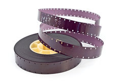 16mm filmrulle Royaltyfria Bilder