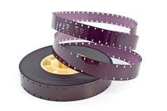 16mm filmspoel Royalty-vrije Stock Afbeeldingen