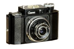 35-mm fotocamera smena. Old film camera 24*36mm with lens Royalty Free Stock Photos