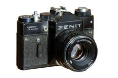 35 mm fotocamera Zenit TTL 免版税库存图片