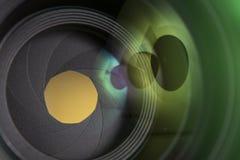 50mm främsta lins Royaltyfria Bilder