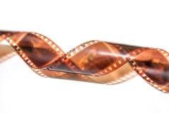 35mm geïsoleerde filmstrook Stock Foto