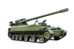 152mm gemotoriseerd kanon 2Ð ¡ 5 Stock Afbeeldingen