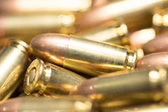 9mm Gewehrkugel Lizenzfreie Stockfotos
