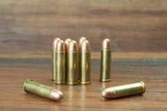 9mm Gewehrkugeln Stockbilder