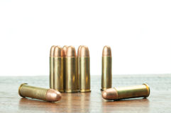 9mm Gewehrkugeln Lizenzfreie Stockbilder