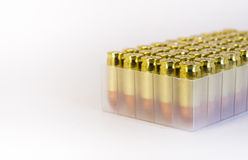 9mm gun bullets. Royalty Free Stock Photos