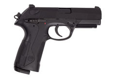 9 mm gun Stock Photography