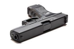 9mm halvautomatisk pistol Arkivbilder