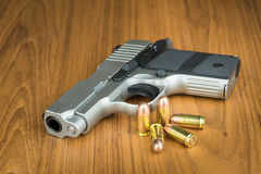 .380 mm hand gun Stock Photos