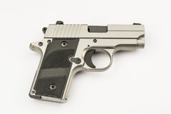 .380 mm hand gun Stock Image
