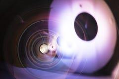 8mm Haupt-fisheye Linse Stockbild
